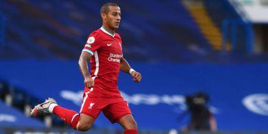 BREAKING NEWS - Tak Muncul di Laga Liverpool Vs Arsenal, Thiago Alcantara Ternyata Positif COVID-19