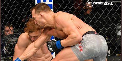 Aksi Michael Chandler di UFC 257 Bikin Pelatih Khabib Naksir
