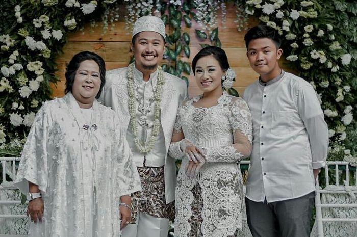 Putri sulung Suti Karno resmi menikah, Jumat (28/9/2018).