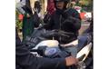 Detik-detik Pemotor Yamaha NMAX Marah Ditegur, Padahal Lawan Arah