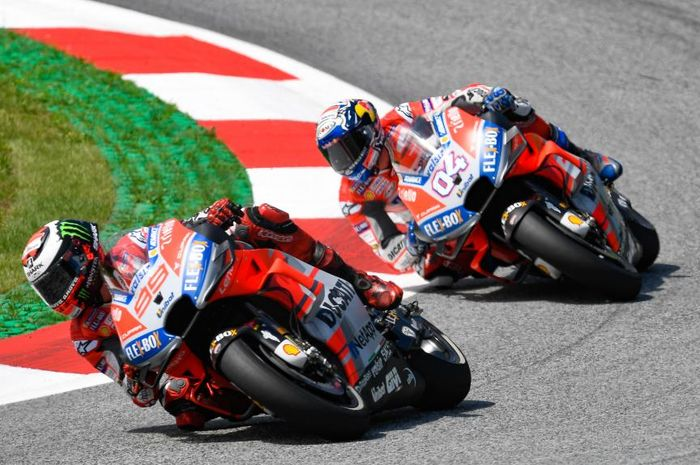Andrea Dovizioso beberkan alasan sulit salip Jorge Lorenzo
