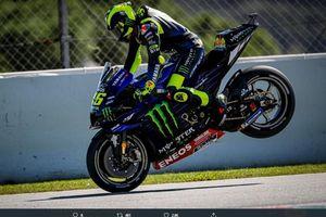 Dua Momen Krusial yang Bikin Pengamat MotoGP Sadar Valentino Rossi Semakin Tua