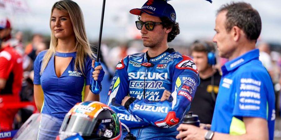 MotoGP Argentina 2019 - Finis Urutan Ke-5, Rins Buat Manajer Suzuki Angkat Topi