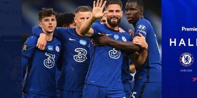Babak I - Berkat Olivier Giroud dan Willian, Chelsea Unggul Atas Watford