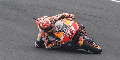 Legenda Honda Sebut Marc Marquez Kembali Tampil Keras Kepala