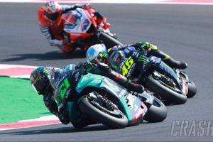 Hasil Kualifikasi MotoGP Catalunya 2020 - 2 Pembalap Petronas Yamaha SRT Gemilang, Valentino Rossi Bikin Kejutan