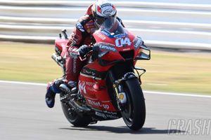 Andrea Dovizioso Tertawa Masih Jadi Pemuncak Klasemen MotoGP 2020 meski Balapannya Lambat
