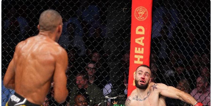 Hasil UFC 262 - Jagoan Pemilik Sepakan Paling Mematikan di MMA Bikin Lawan Nge-Bug