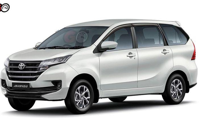 Prediksi desain Toyota Avanza baru