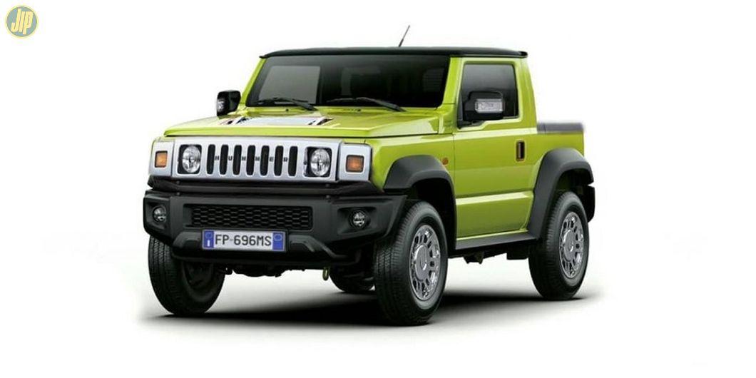 Suzuki Jimny pakai muka Hummer H2