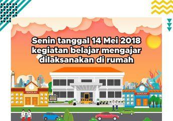 Siswa SMA Di Surabaya Protes Karena Hanya Sekolah PAUD-SMP Yang Diliburkan Pemkot Karena Serangan Bom