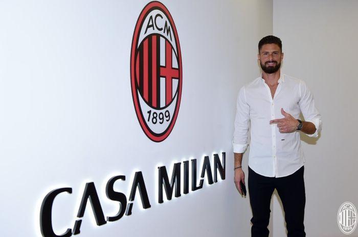 Tiga Legenda AC Milan adalah Idola, Impian Olivier Giroud Jadi Nyata thumbnail