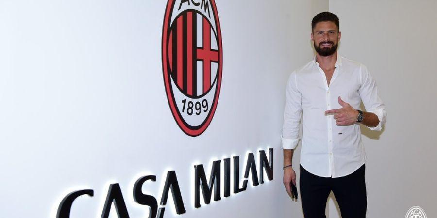 Olivier Giroud: Tuhan Menginginkan Saya Bergabung dengan AC Milan