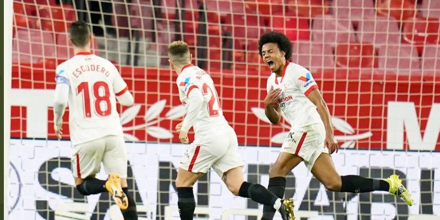 Ditaksir Manchester United, Bek Sevilla Ini Kode-kode Mau Pindah