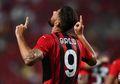 Senam Jantung! Penyerang Jangkung AC Milan Ini Beberkan Reaksi Emosionalnya