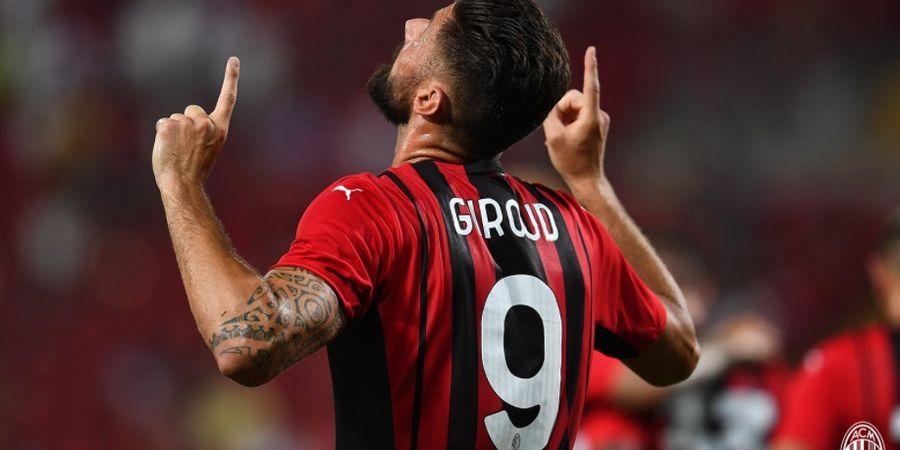 Susunan Pemain AC Milan Vs Torino - Olivier Giroud Ujung Tombak, Zlatan Ibrahimovic Cadangan
