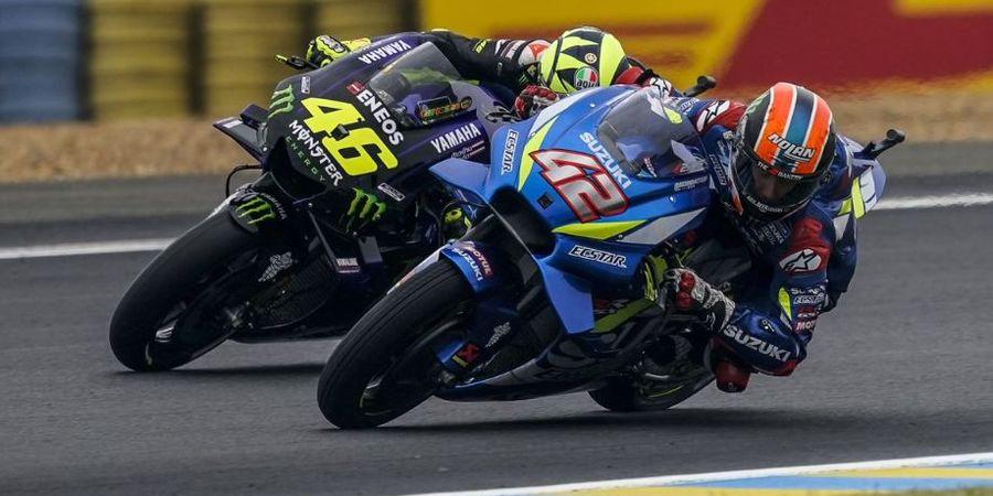Alex Rins Akui Salah Pilih Ban pada Kualifikasi MotoGP Prancis 2019