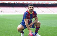 Kena Prank Messi hingga Gaji Turun Drastis, Sergio Aguero Menyesal Gabung Barcelona?