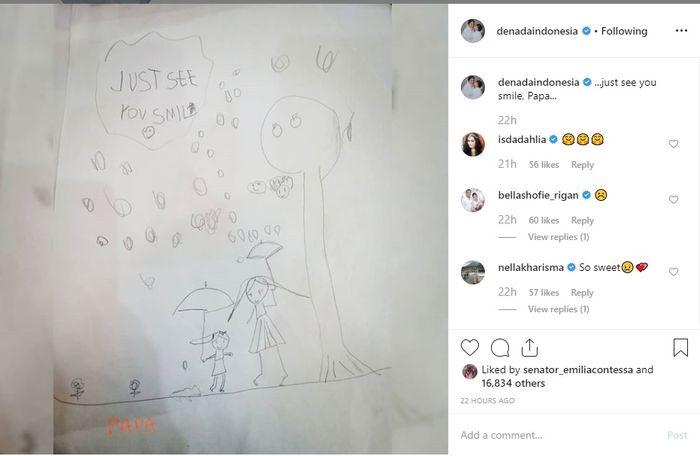 Gambar Shakira untuk sang ayah