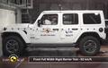 Waduh, Jeep Wrangler di Eropa Mendapat Rapor Merah Soal Uji Tabrak