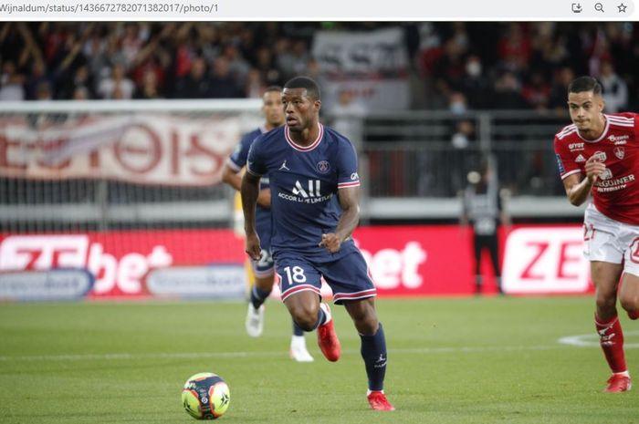 Gelandang tengah Paris Saint-Germain, Georginio Wijnaldum.