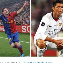 Bukti Nyata Latihan Lionel Tak Kalah Saing dari Cristiano Ronaldo