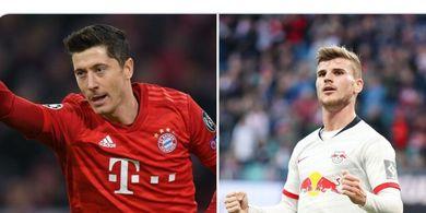 Kepegian Timo Werner dari RB Leipzig akan Seperti Hengkangnya Robert Lewandowski dari Bayern Munchen