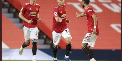 Susunan Pemain Manchester United Vs RB Leipzig - Donny van de Beek Akhirnya Jadi Starter