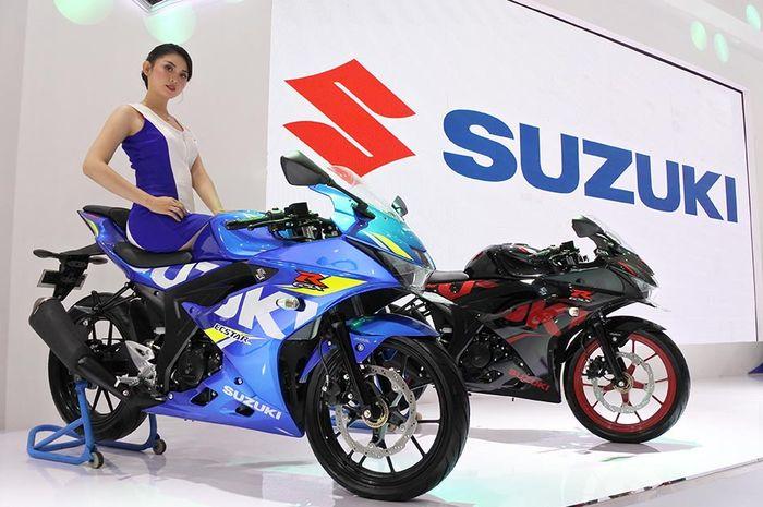 Suzuki GSX-R150 ABS yang meluncur di ajang IMPS 2018.