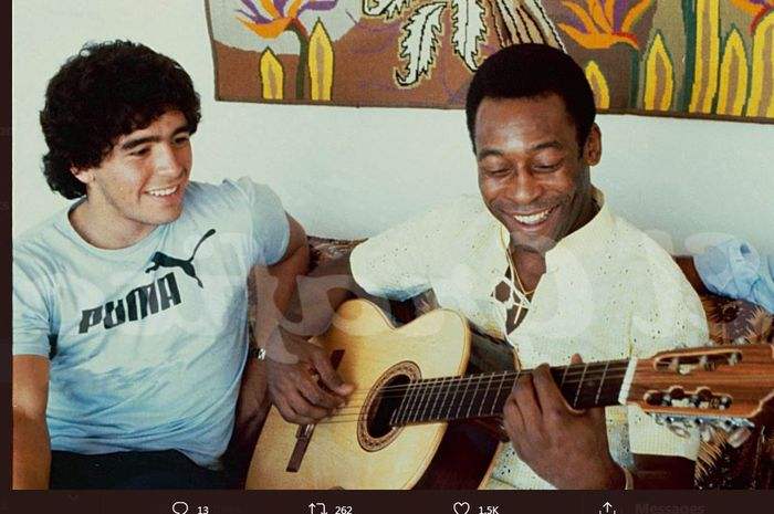 Diego Maradona : Legenda Tangan Tuhan, menemui Tuhan nya Rabu 25-11-2020
