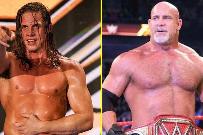 Matt Riddle (kiri) dan Goldberg (kanan).