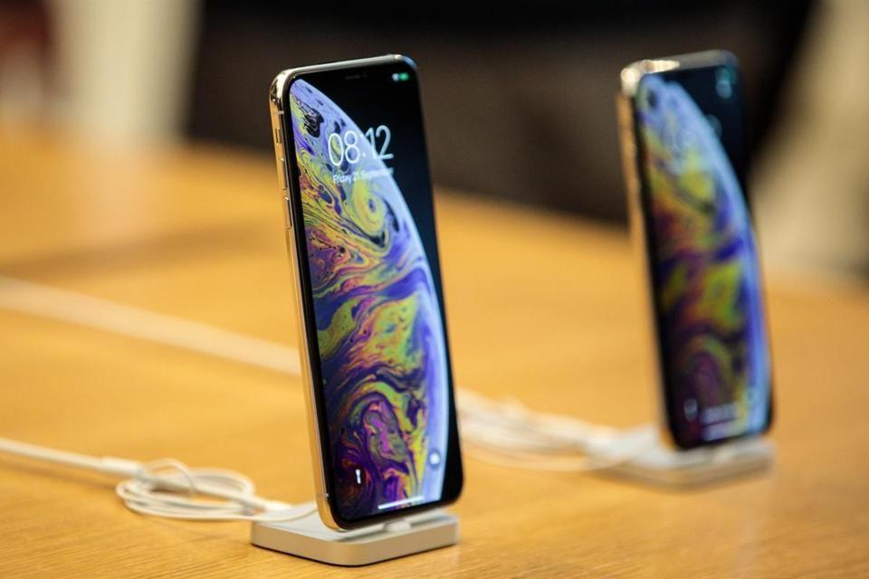 Display iPhone di Apple Store