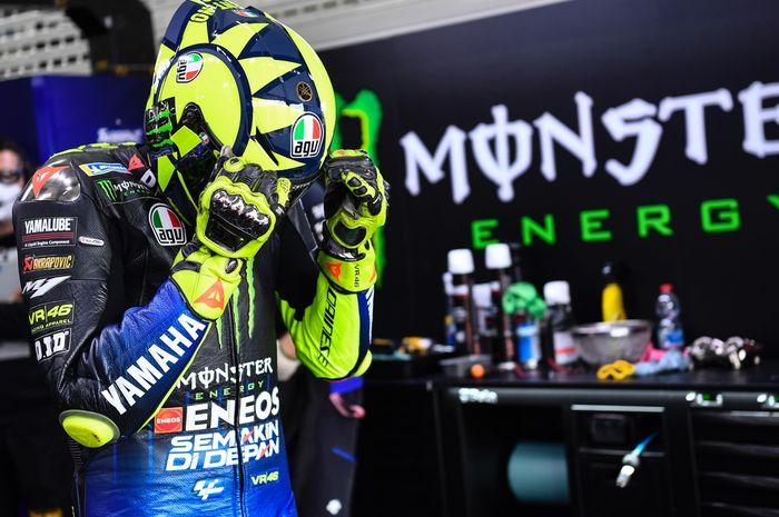 Posisi 12 adalah hasil MotoGP Valencia 2020 untuk Valentino Rossi, di mana Franco Morbidelli menjadi jawara.