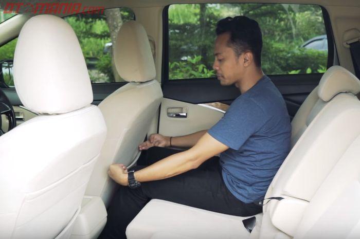 Mitsubishi Xpander punya kenyamanan ekstra berkat akomodasi mumpuni