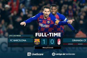 VIDEO - Gol Cerdik Lionel Messi Bikin Kiper Lawan Pasrah