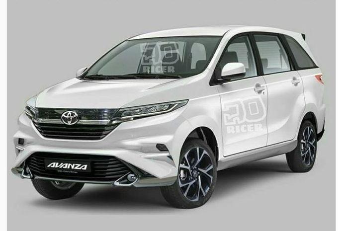 Ubahan Toyota Avanza terbaru ala  @joricer_design