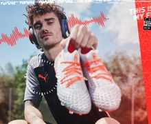 Puma Rilis Sepatu Anyar, Paduan Unsur Sepak Bola dan Musik Ditambah Playlist Lagu