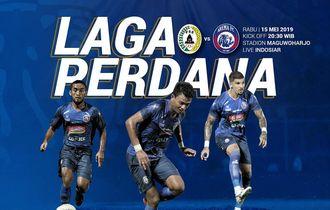 Prediksi Starting Line-up  PSS Sleman Vs Arema FC di Laga Perdana Liga 1 2019