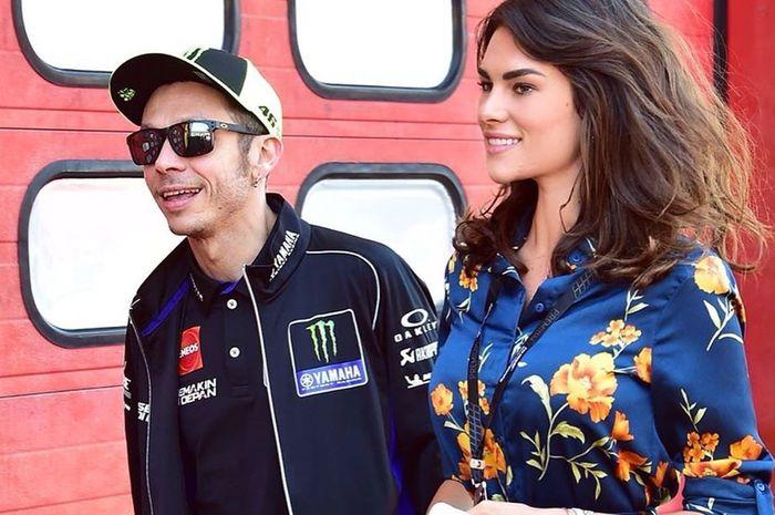 Valentino Rossi dan Kekasihnya, Fransesca Sofia Novello
