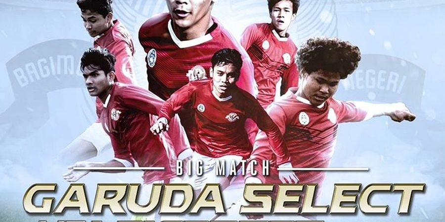 Link Live Streaming Garuda Select Vs Leicester City U-17, Main Sore Ini