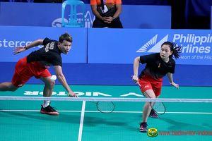 Hasil SEA Games 2019 - Rinov/Pitha Tumbang, Harapan untuk All-Indonesian Final Pupus