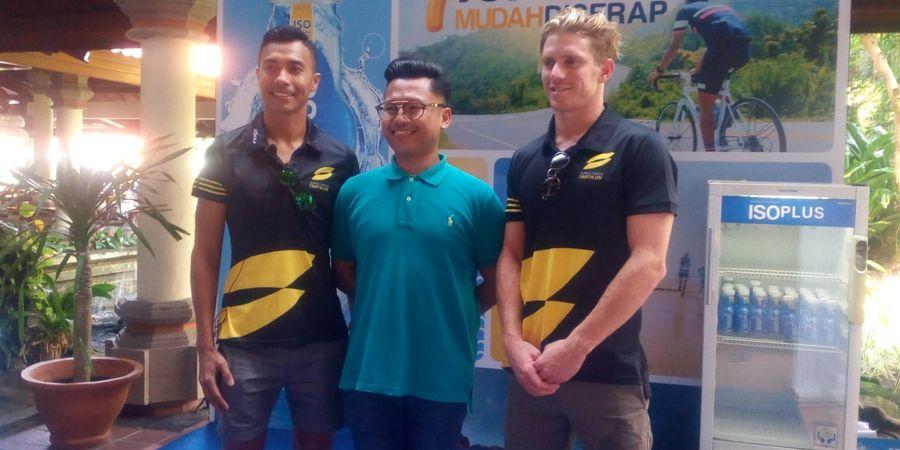 ISOPLUS Bantu Atlet Super League Triathlon Bali Lebih Bugar Saat Race