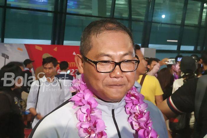 Manajer timnas U-22 Indonesia, AKBP Sumardji.