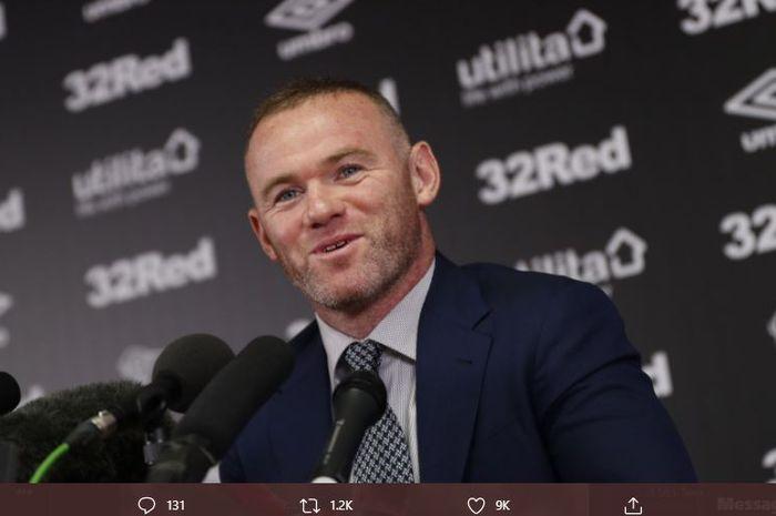 Legenda Manchester United, Wayne Rooney, secara resmi telah ditunjuk menjadi manajer tetap Derby County.