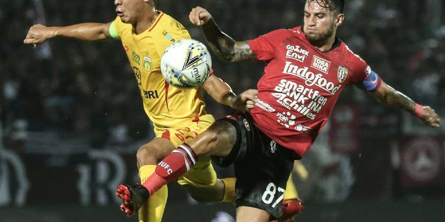 Hasil Liga 1 - Unggul Jumlah Pemain, Bali United Kalahkan Bhayangkara FC
