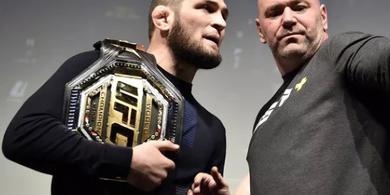 Belum Menyerah, Video Bos UFC Bujuk Khabib Nurmagomedov Hadapi Conor McGregor Lagi