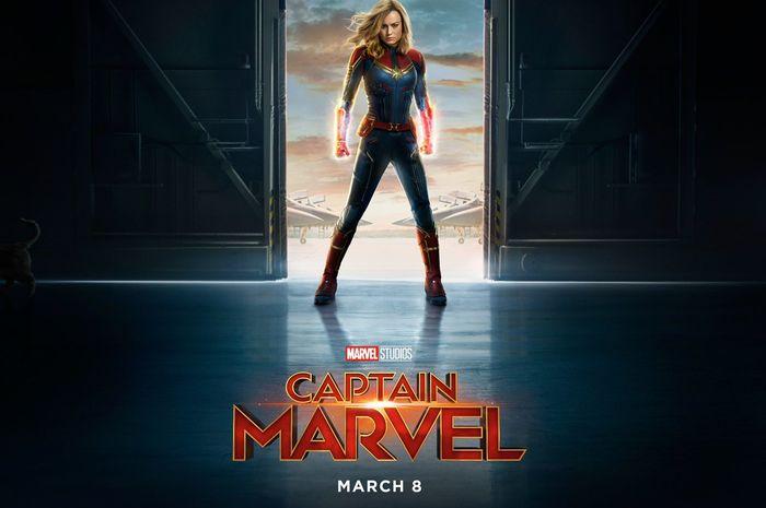 Poster film Captain Marvel
