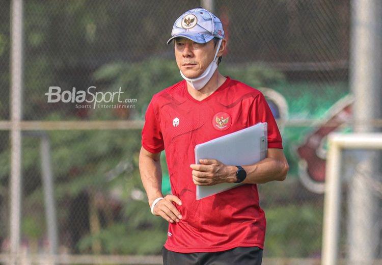 Shin Tae-yong Benar-benar Khawatir dengan Penampilan Timnas Indonesia U-23
