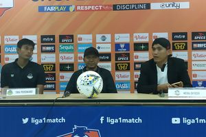 Rahmad Darmawan Syukuri Hasil Imbang di Kandang Persib Bandung
