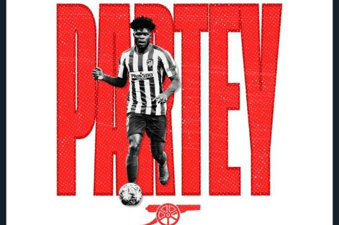 Gelandang baru Arsenal, Thomas Partey.